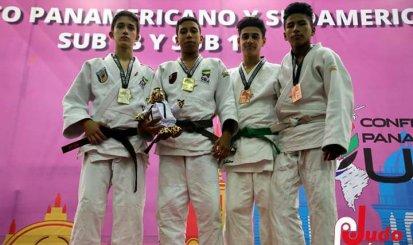 Cauã Galdeano é campeão Pan-Americano e Sul-Americano de judô