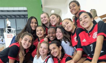 Flamengo disputa semifinal no Campeonato Brasileiro Interclubes de Vôlei Sub-15