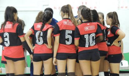 Vôlei do Flamengo conquista a medalha de prata em Brasileiro Sub-15