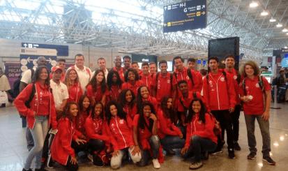 Atletas do Flamengo participam do Campeonato Jovens Talentos do Remo