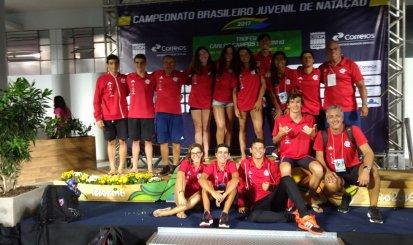 Flamengo conquista quatro medalhas no Brasileiro de Natação