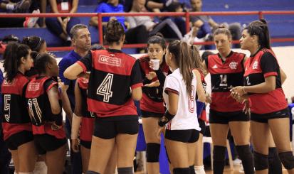 Vôlei do Flamengo avança às semifinais do Campeonato Brasileiro Interclubes