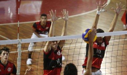 Vôlei Rubro-Negro busca vaga nas quartas-de-final do Campeonato Brasileiro Interclubes