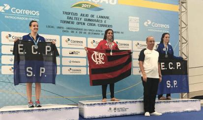 Campeonato Brasileiro de Natação termina com doze medalhas para o Flamengo