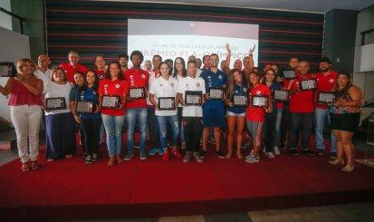 Prêmio Fla Olímpico celebra vencedores do ano de 2017