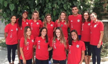 Atletas do Flamengo são convocados para a seleção brasileira de Nado Artístico
