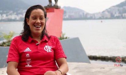 Conheça Caroline Corado, uma das atletas beneficiadas pelo Anjo da Guarda