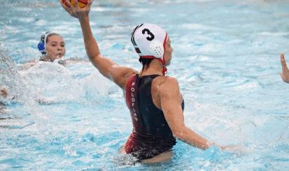 Equipe bicampeã nacional de polo aquático volta aos treinos na Gávea