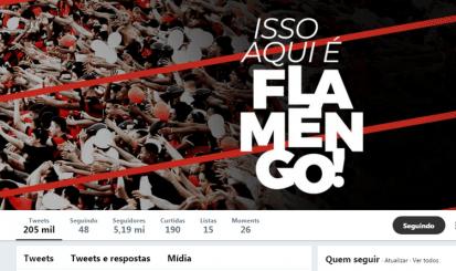 20 milhões de seguidores: Flamengo atinge marca inédita nas redes sociais