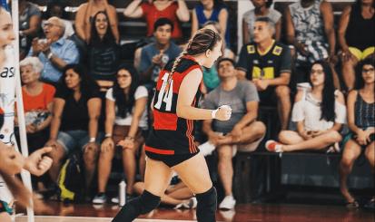 Projeto de time adulto no vôlei do Flamengo é incentivo a mais para categorias de base