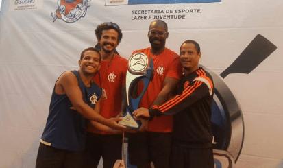 Equipe do Flamengo é campeã da Regata Estadual de Velocidade