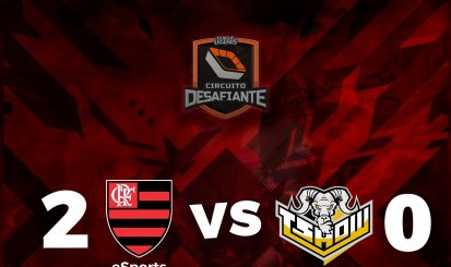 Flamengo vence TShow e assume segunda colocação no Circuito Desafiante
