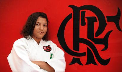 Sarah Menezes é do Flamengo!