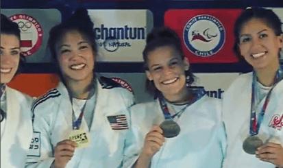 Luana Costa conquista o bronze no Aberto Pan-Americano de Santiago