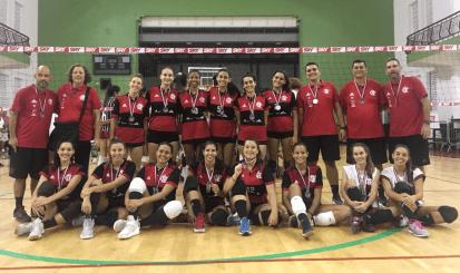 Flamengo é vice-campeão do Torneio Início Juvenil de Vôlei