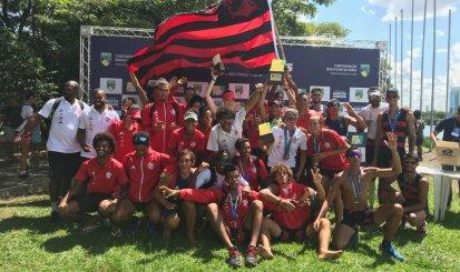 Flamengo é campeão do Troféu Brasil e do Campeonato Brasileiro de Barcos Curtos
