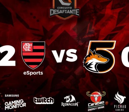 Flamengo vence 5Fox e consolida classificação para playoffs do Circuito Desafiante