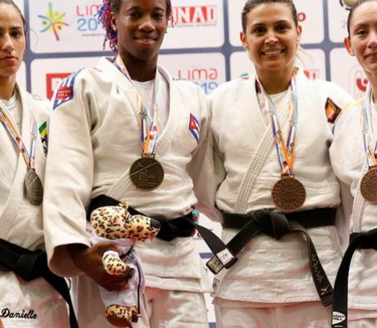 Danielle Karla é prata no Aberto Pan-Americano de Lima