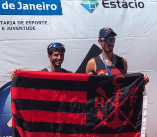 Flamengo conquista dezesseis medalhas na 1ª Regata Estadual