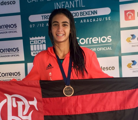 Giulia Spinelli e Pedro Morrot são convocados para a seleção brasileira escolar