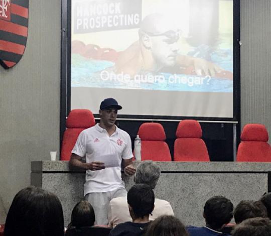 João De Lucca promove bate-papo com jovens atletas