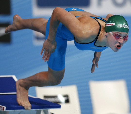 Campeã olímpica, Ruta Meilutyte integra equipe rubro-negra de natação