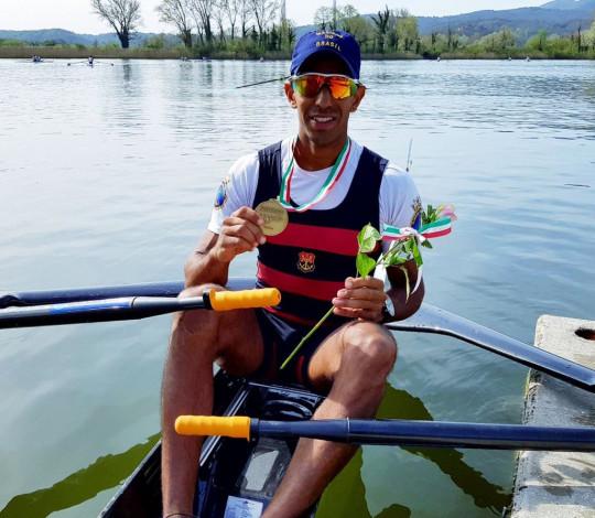 Emanuel Borges conquista duas medalhas na Regata Internacional Memorial Paolo D'Aloja