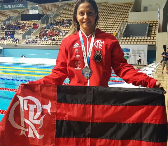 Flamengo conquista duas medalhas no primeiro dia de Maria Lenk