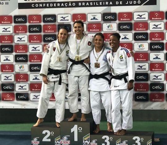 Flamengo conquista quatro ouros no Campeonato Brasileiro de Judô