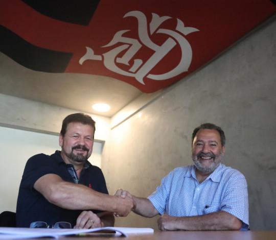 Flamengo anuncia parceria para a captação de jovens talentos na região sul do país
