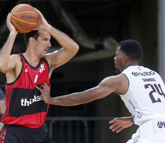Pela terceira vez, Flamengo encara o Mogi nas semifinais do NBB