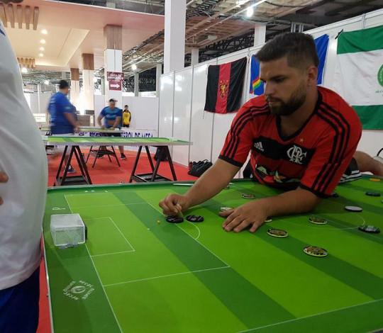 Flamengo é campeão da Copa do Brasil de Futebol de Mesa