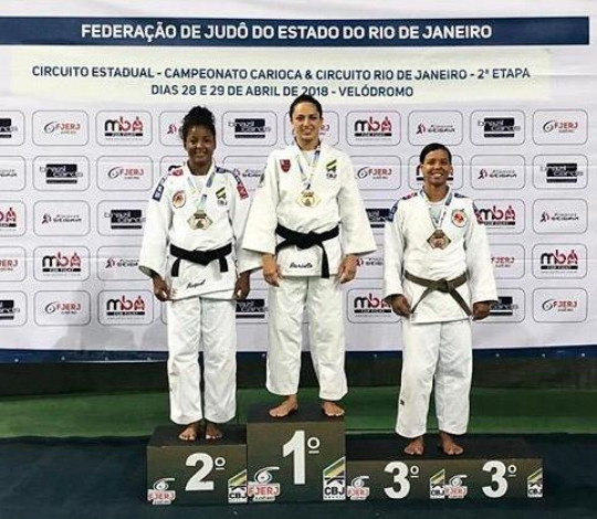 Flamengo conquista dez medalhas de ouro no Campeonato Carioca de Judô