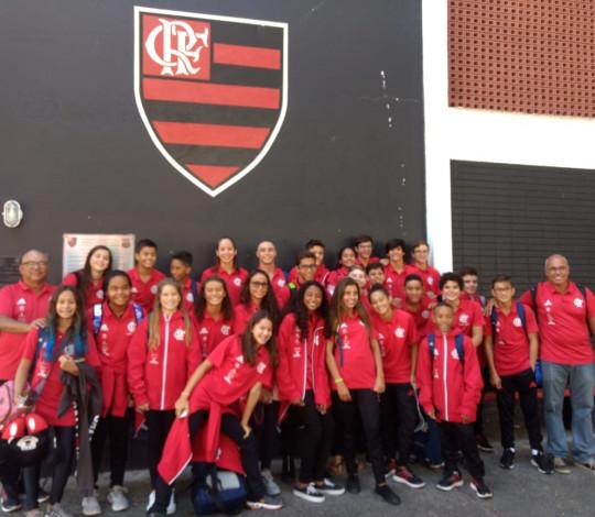 Equipe Infantil de natação disputa o Campeonato Brasileiro Interclubes