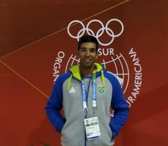 Emanuel Borges é o Mais Querido nas disputas de remo dos Jogos Sul-Americanos