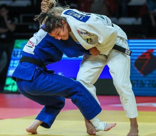 Sarah Menezes encerra participação no Grand Prix de Hohhot