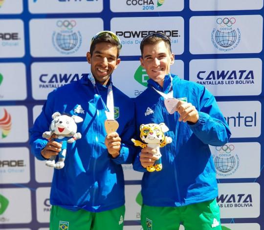 Emanuel Borges conquista o bronze nos Jogos Sul-Americanos