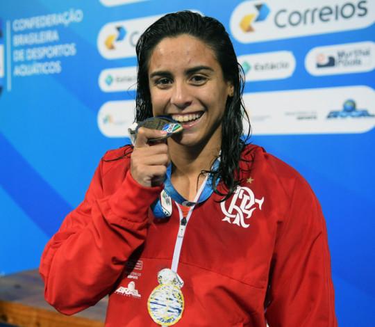 Flamengo conquista 79 medalhas no Circuito Celebridades de Natação