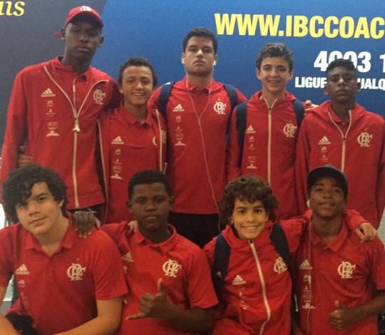Flamengo disputa Campeonato Brasileiro Interclubes de Polo Aquático Sub-15