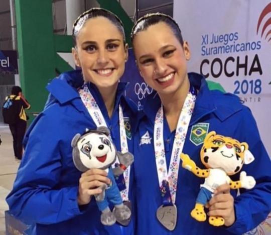 Maria Clara Lobo conquista a medalha de prata nos Jogos Sul-Americanos