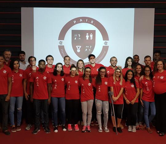 Flamengo lança oficialmente o projeto P.A.I.S para atletas olímpicos