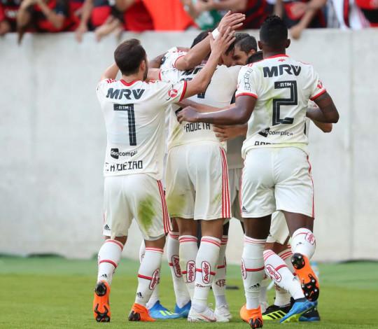 Flamengo, o melhor e mais preciso ataque do Brasileirão 2018