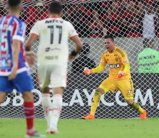 A regularidade e solidez de Diego Alves no gol rubro-negro