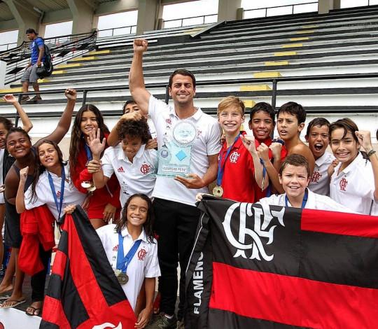 Flamengo é campeão de mais uma etapa do Circuito Carioca de Natação Petiz