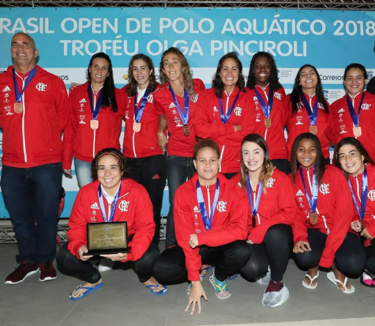 Flamengo fica com o terceiro lugar no Brasil Open de Polo Aquático