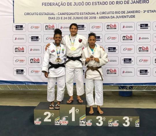 Estreou com tudo! Sarah Menezes conquista medalha de ouro no Campeonato Carioca de Judô