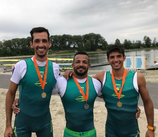 Willian Giaretton, Xavier Maggi e Michel Pessanha conquistam ouro e prata na Copa do Mundo