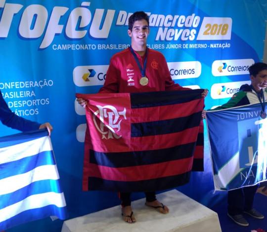 Flamengo encerra participação no Brasileiro Interclubes Júnior com três ouros
