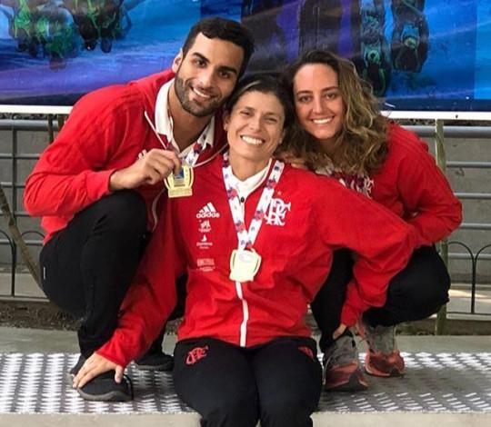 Flamengo conquista quatro ouros no SP Open de Nado Artístico