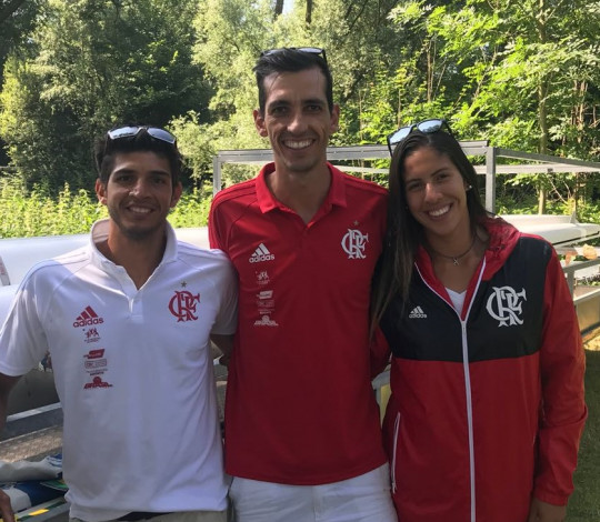 Milena Vianna, Willian Giaretton e Xavier Maggi disputam 3ª Etapa da Copa do Mundo